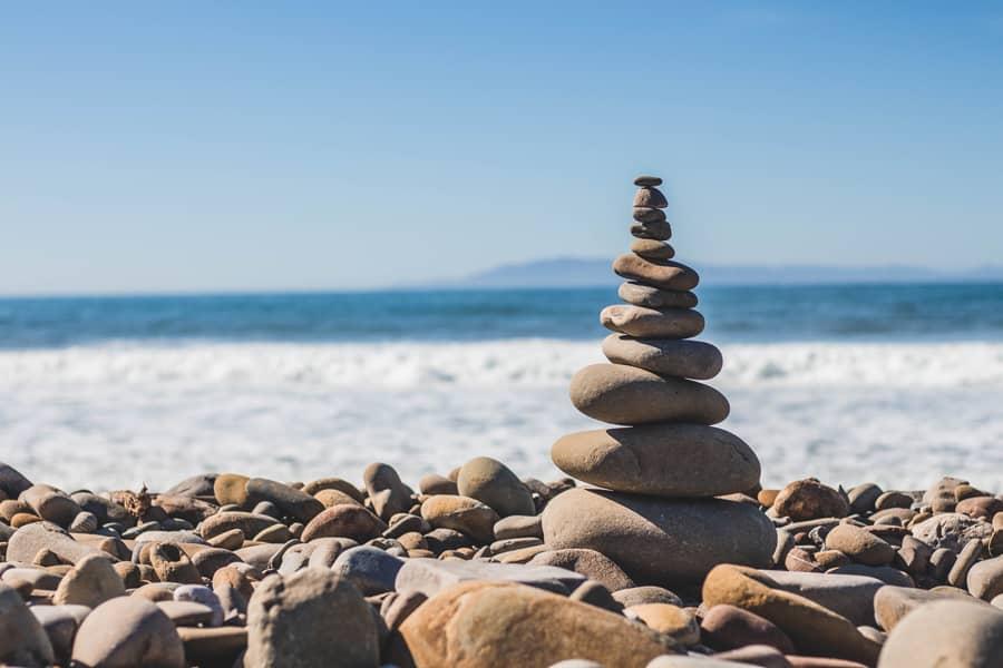 Achieving zen through yoga and meditation